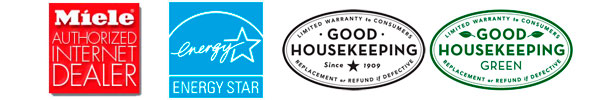 EnergyStar Rated and Good Housekeeping Seal