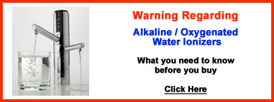 Warning regarding Alkaline - Oxygenated